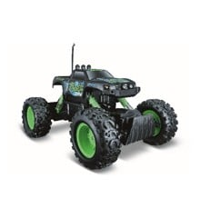 Maisto - Rock Crawler Off Road R/C 27MHz - Green/Black  (140047)
