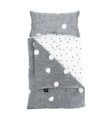Ooh Noo - Dolly Cot Bedding, Marshmellows linnen (40DCB1805)