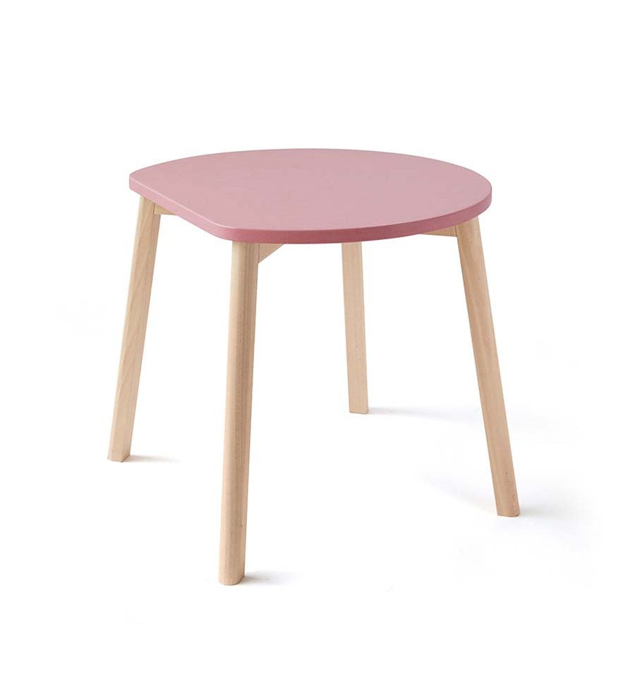 Ooh Noo - Half-Moon Table, Pink (40HMT1702)