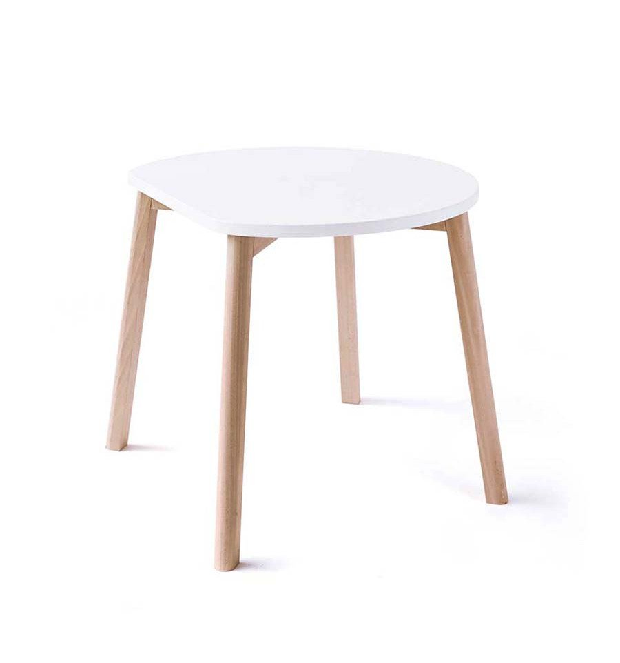 Ooh Noo - Half-Moon Table, White (40HMT1701)