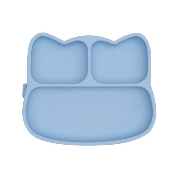 We Might Be Tiny - Cat Stickie Plate, Powder blue (28TICP02)