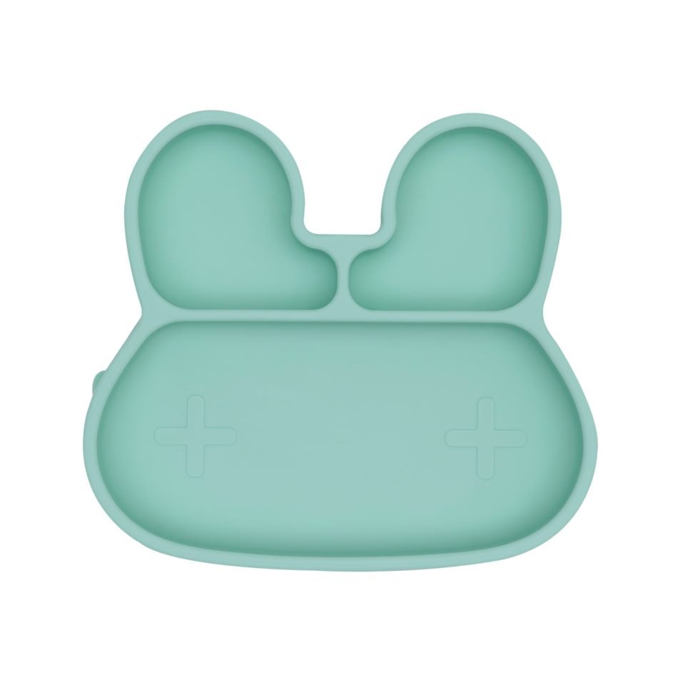 We Might Be Tiny - Bunny Stickie Plate, Mint (28TIBP01)