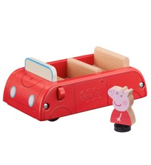 Peppa Pig - Wooden Car w. Figure (20-00109)