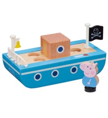Peppa Pig - Wooden Boat w. Figure (20-00110)
