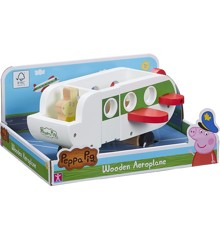 Peppa Pig - Wooden Plane w. Figure (20-00112)