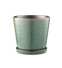 Bitz - Flowerpot Medium - Green/Black (11237)