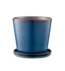 Bitz - Flowerpot Medium - Dark Blue/Black (11241)