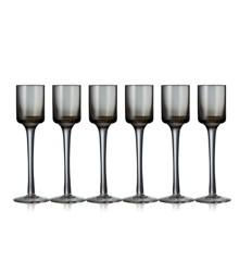 Lyngby Glas - Snaps Glass - Grey (12406)