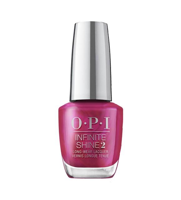OPI - Infinite Shine 2 Gel Neglelak - Merry In Cranberry