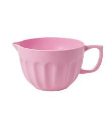Rice - Melamine Bowl w. Beak and Handle Large - Taffly Pink