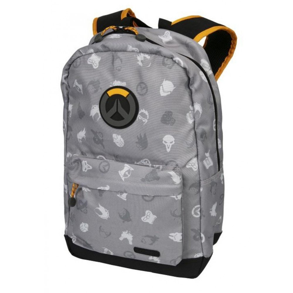 Overwatch Hero Splash Backpack Gray