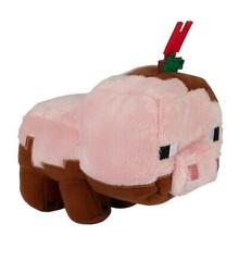 Minecraft Earth Happy Explorer Muddy Pig Plush