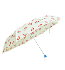 Rice - Foldbar Paraply -  Rainbow Print