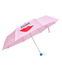 Rice - Foldable Umbrella - Lips Print