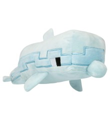 "Minecraft 13.75"" Adventure Dolphin Plush"