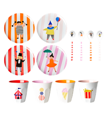 Rice - Kids Melamine Set in Giftbox - Circus Print