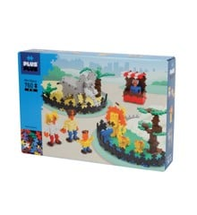 Plus Plus - Mini Basic - Zoo, 760 pc  (3776)