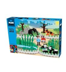Plus Plus - Mini Basic - Zoo del 2, 760 Stück (3763)