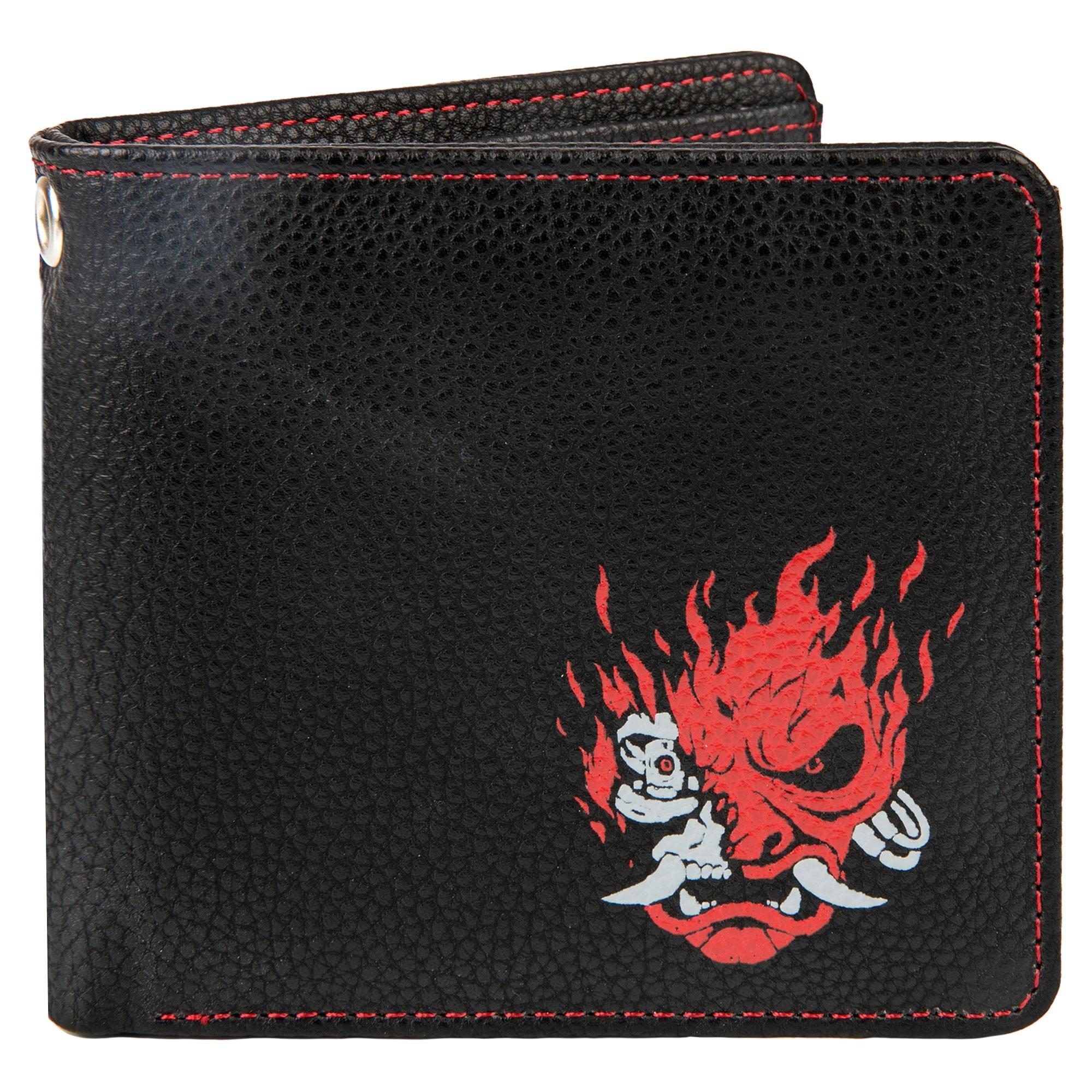 Cyberpunk 2077 Night Samurai BI-Fold Wallet Black/Red