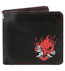 Cyberpunk 2077 Night Samurai BI-Fold Wallet Black/Red