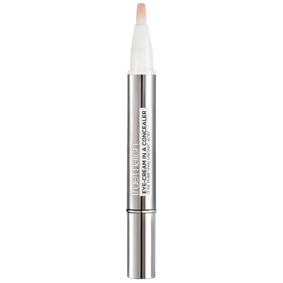 L'Oréal - True Match Eye-Cream In a Concealer - 1-2R Rose Porcelain
