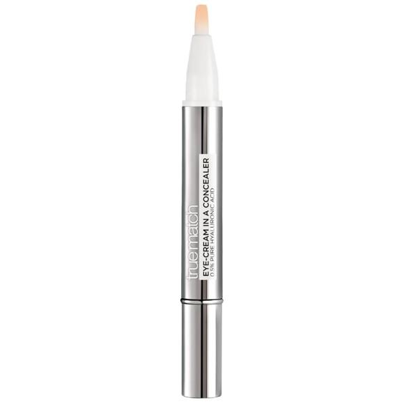 L'Oréal - True Match Eye-Cream In a Concealer - 1-2D Ivory Beige