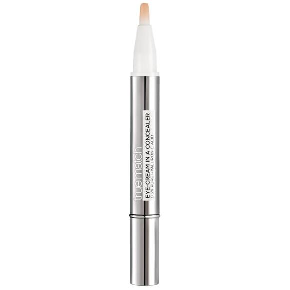 L'Oréal - True Match Eye-Cream In a Concealer - 3-5N Natural Beige