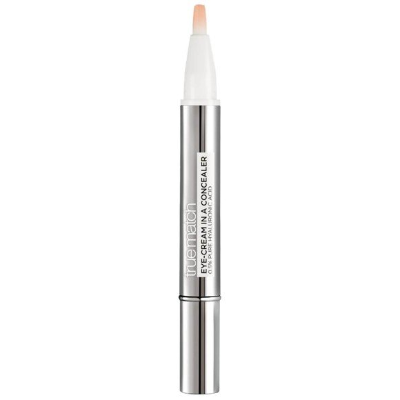 L'Oréal - True Match Eye-Cream In a Concealer - 3-5.5R Peach