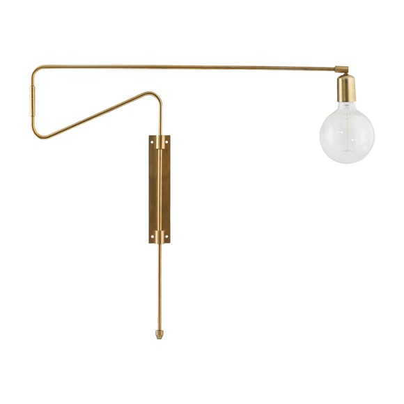 House Doctor - Swing Wall Lamp large - Brass (cb0213/203660213)
