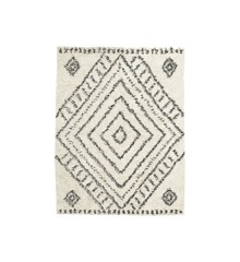 House Doctor - Nubia Rug 210 x 160 cm - White/Cream (Rm0140-160x210/206230140)