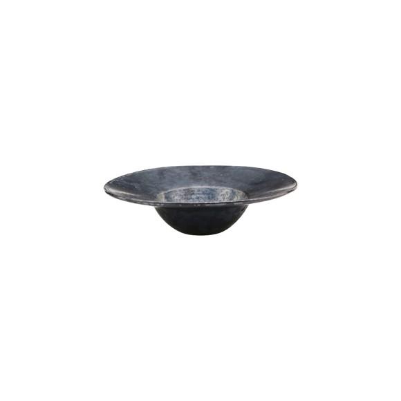 House Doctor - Pion Bowl/Pasta Plate Ø 25 cm - Black/Brown (206260206)