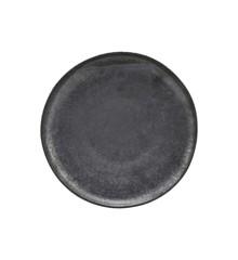 House Doctor - Pion Dinner Plate Ø 28,5 cm - Black/Brown (206260205)