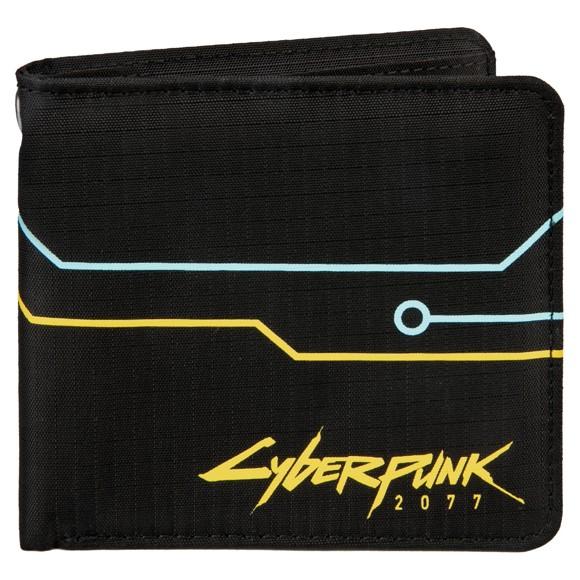 Cyberpunk 2077 Hack Wallet (Black/Yellow/Blue)