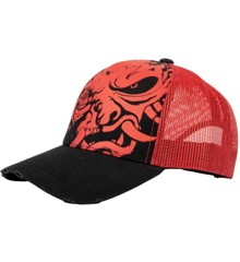 Cyberpunk 2077 Distressed Samurai Tucker Hat