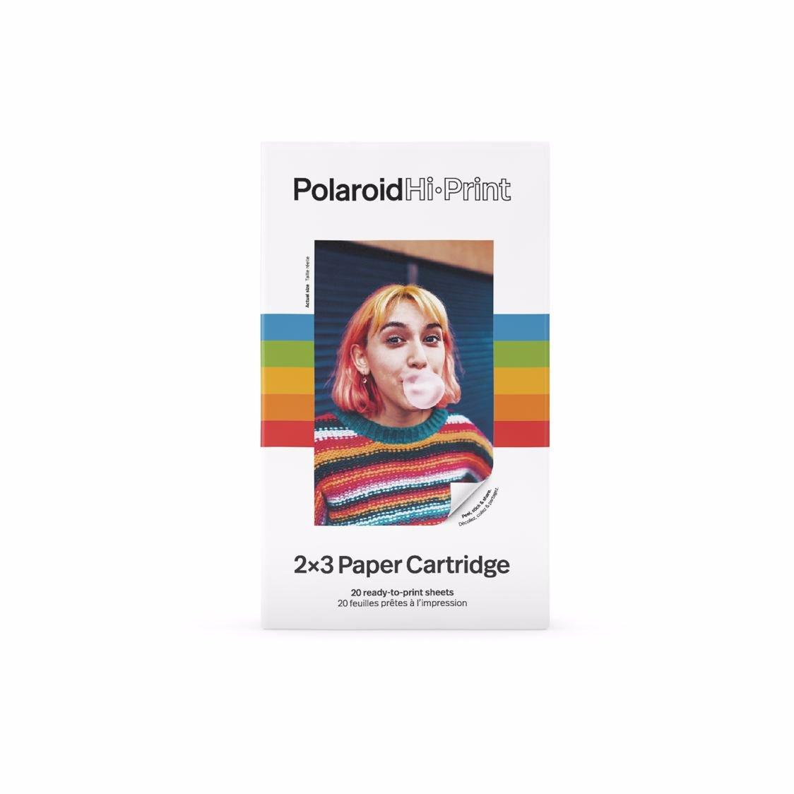 "Polaroid - HI-PRINT CARTRIDGE 2,1X3,4"" 20-PACK STICK"