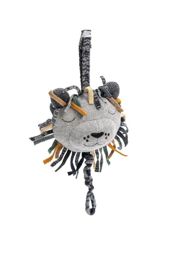 Smallstuff - Crochet Music Mobile - Multi Lion