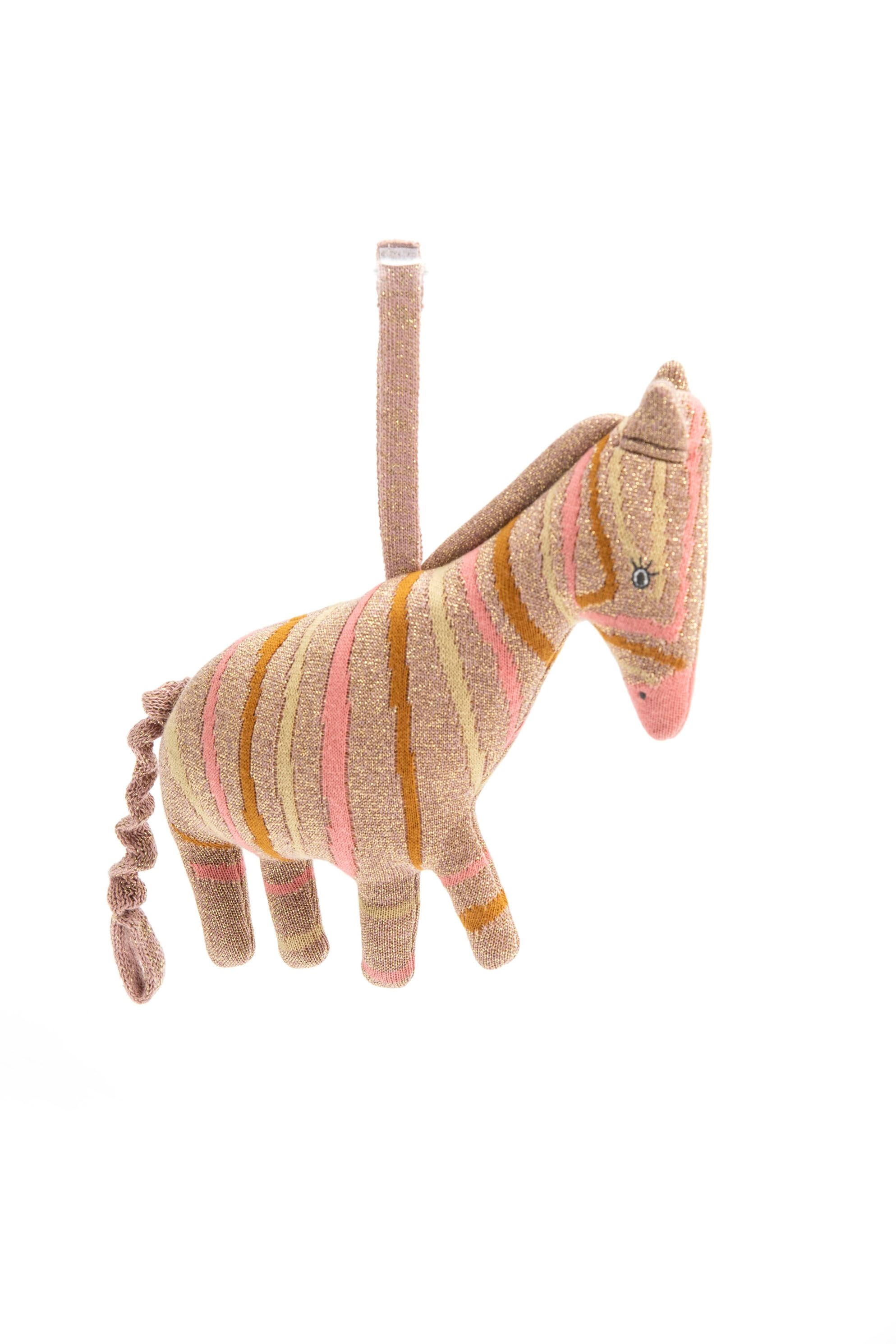 Smallstuff - Crochet Music Mobile - Multi Zebra