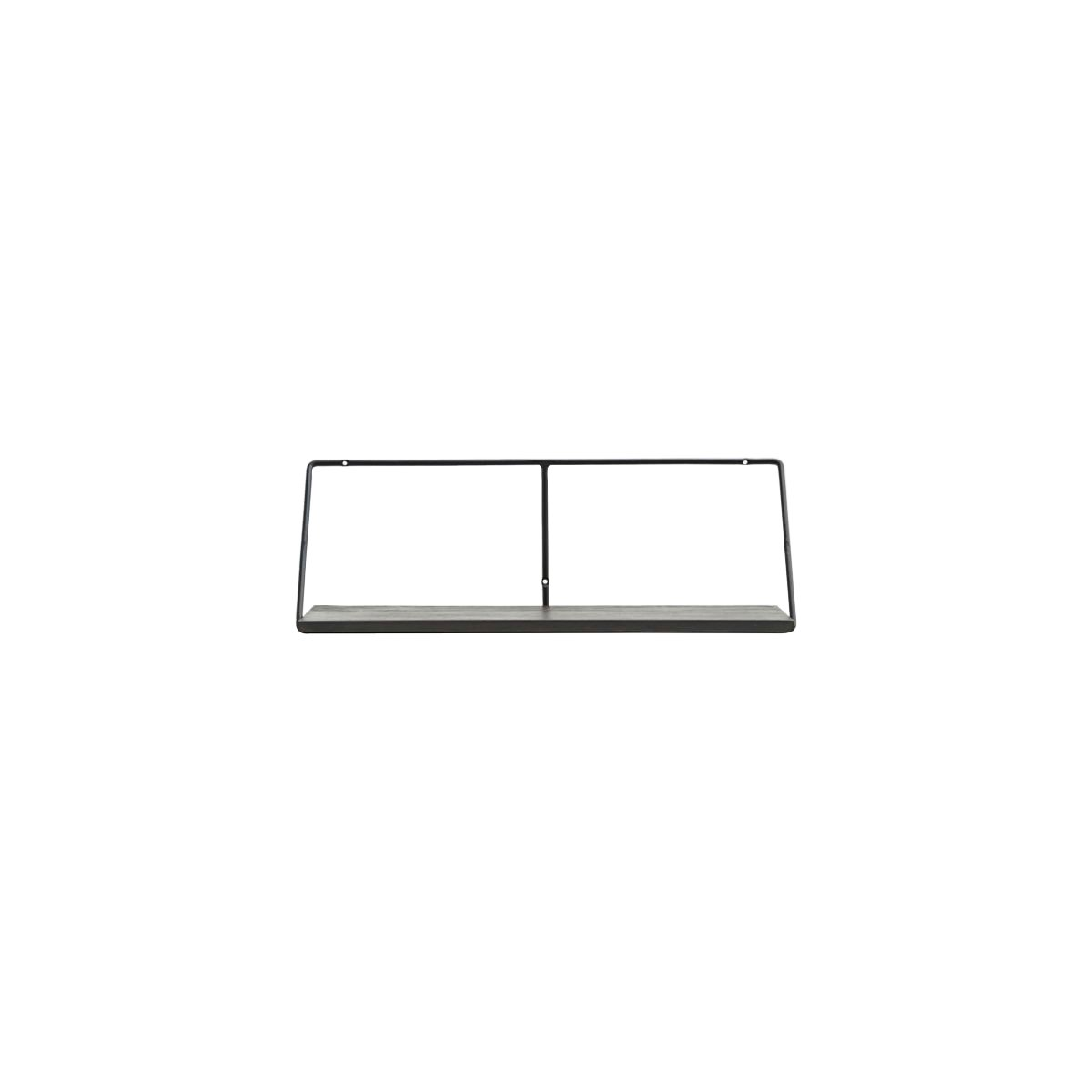 House Doctor - Wired Shelf 70 cm - Black Stain (203800410)