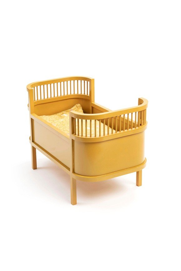 Smallstuff - Rosaline Doll Bed - Curry