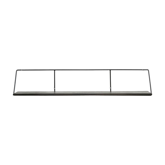 House Doctor - Wired Shelf 130 cm - Black Stain (br0411/203800411)