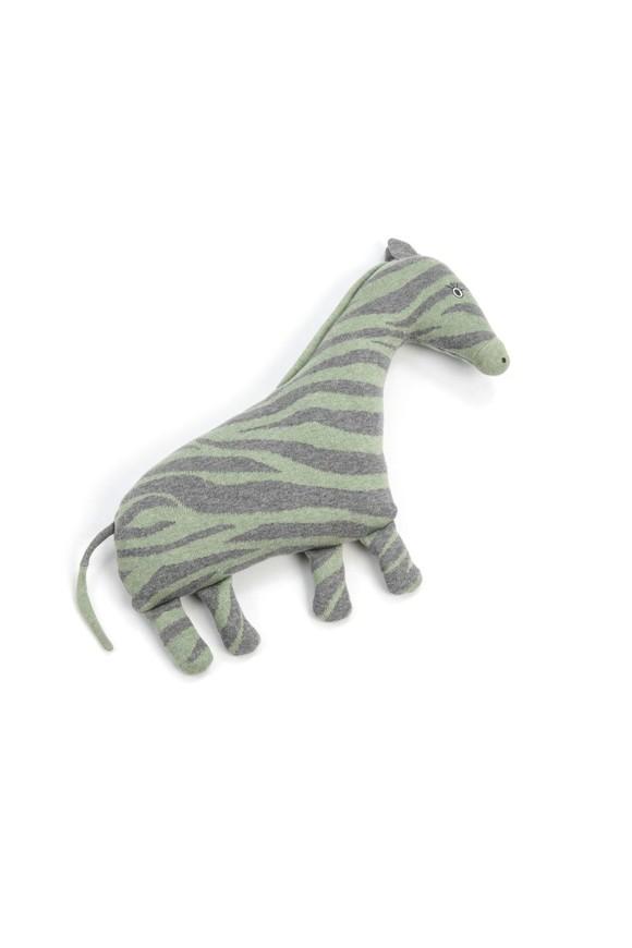 Smallstuff - Cushion Toy Animal - Grey Zebra