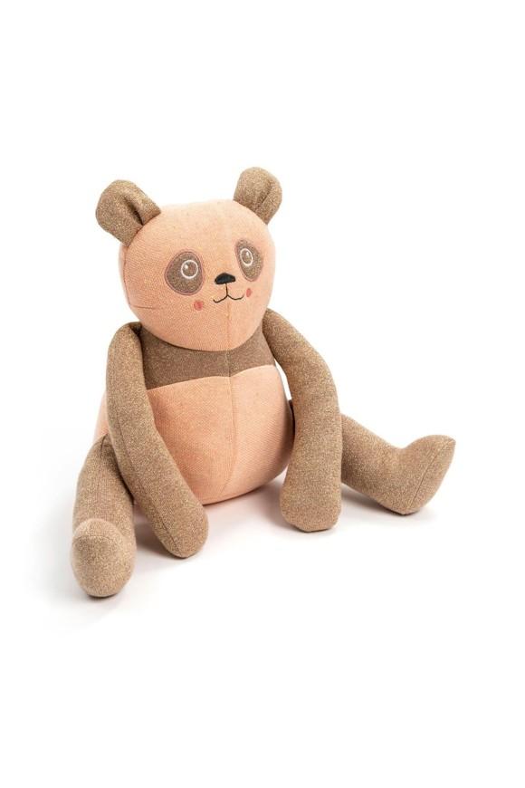 Smallstuff - Head Rests Toy Sitting Cushion - Powder Panda