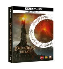 Ringenes Herre Trilogi / Lord Of The Rings Trilogy - 4K Ultra HD Blu-Ray