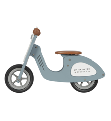 Little Dutch - Wooden Scooter, Blue (4385)