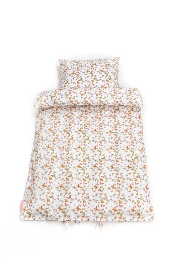 Smallstuff - Bedding Junior - Multi Butterfly