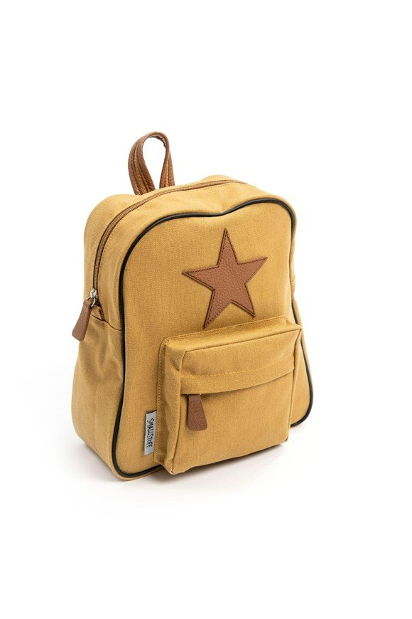 Smallstuff - Little Backpack w. Leather Star - Carry