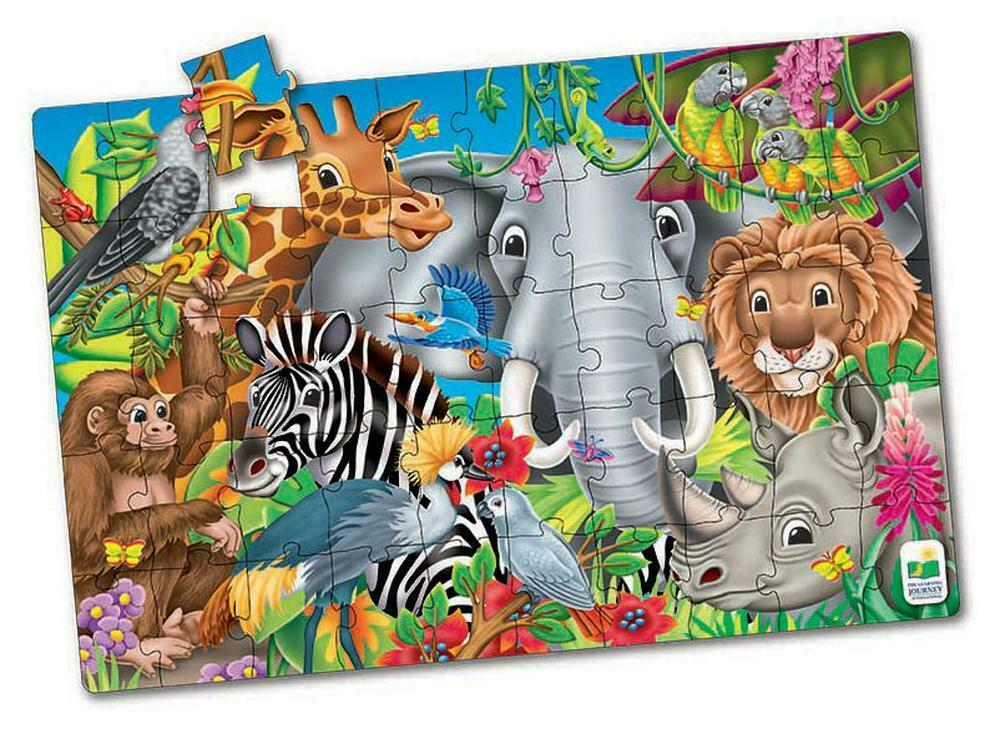 The Learning Journey - Jumbo Floor Puzzles - Animals of the World  (50 pcs.) (17364)