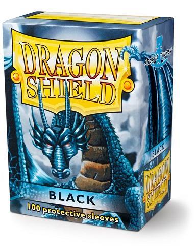 Gamegenic - Dragon Shield - Classic Black (100 ct) (AT10002)