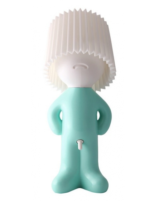 Table lamp - Mr. P Shy Man Show (Green body / White shade) (1296201)