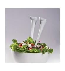 Salat Bestik - Jumpin' Jacks (Hvid)